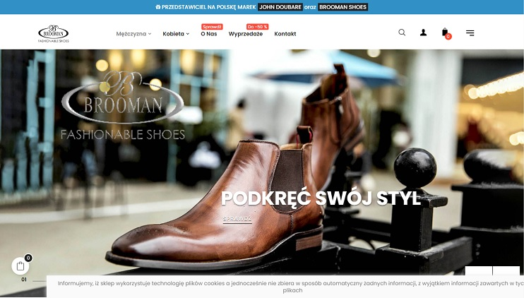 sklep internetowy z modnymi butami